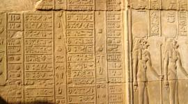 Hieroglyphs Wallpaper Background