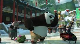 Kung Fu Panda Holiday Photo Free
