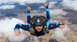 Skydiver Desktop Wallpaper