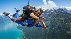 Skydiver Desktop Wallpaper HD