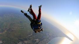 Skydiver Wallpaper Background