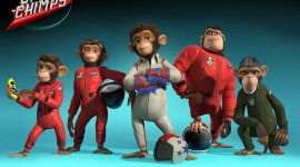 Space Chimps Wallpaper For PC
