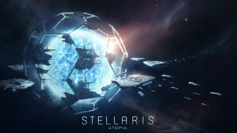 Stellaris Utopia wallpapers high quality