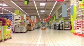 Supermarket Desktop Wallpaper