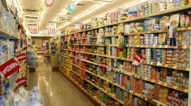 Supermarket Wallpaper