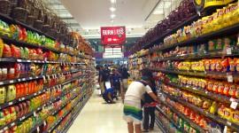 Supermarket Wallpaper High Definition