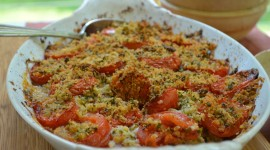 Tomato Gratin Wallpaper Download