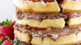 Waffle Cake Wallpaper Free