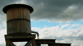 Water Tower High Quality Wallpaper