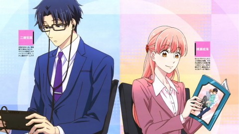 Wotakoi Love Is Hard For Otaku wallpapers high quality