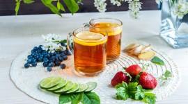 4K Tea With Lemon Photo
