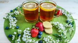 4K Tea With Lemon Photo Download