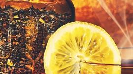 4K Tea With Lemon Wallpaper For Mobile