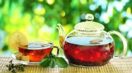4K Tea With Lemon Wallpaper Free