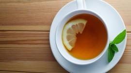 4K Tea With Lemon Wallpaper HQ