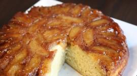 Apple Upside-Down Cake Photo Free
