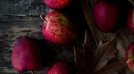Autumn Apples Wallpaper For Android