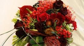 Autumn Bouquets Desktop Wallpaper