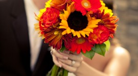 Autumn Bouquets Wallpaper For IPhone