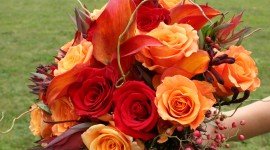 Autumn Bouquets Wallpaper For IPhone#2