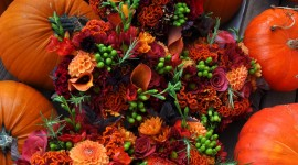 Autumn Bouquets Wallpaper For PC