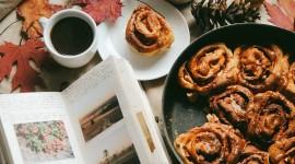 Autumn Breakfast Wallpaper