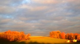 Autumn Sky Wallpaper Full HD
