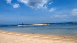 Balinese Beach High Quality Wallpaper