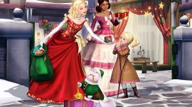 Barbie In A Christmas Carol Aircraft Picture