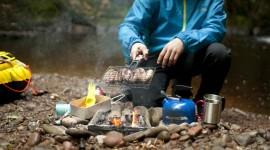 Camping Food Wallpaper HD