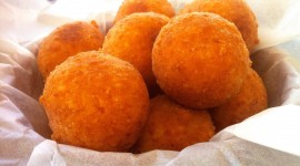 Cheese Balls Desktop Wallpaper HD