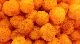 Cheese Balls Wallpaper HQ