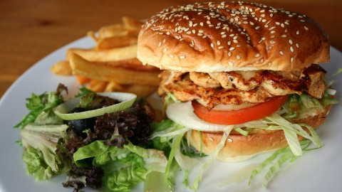 Chicken Burger wallpapers high quality