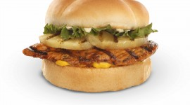 Chicken Burger Wallpaper High Definition