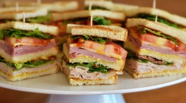 Club Sandwich Desktop Wallpaper