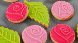 Colored Cookies Wallpaper For IPhone Free