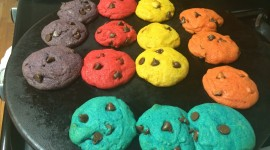 Colored Cookies Wallpaper For PC