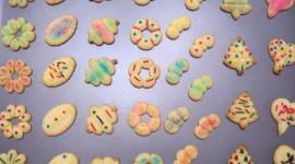 Colored Cookies Wallpaper Full HD