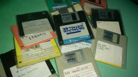 Diskettes Wallpaper Download Free