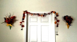 Diy Autumn Leaf Garland Photo Download