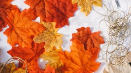 Diy Autumn Leaf Garland Wallpaper Android#2