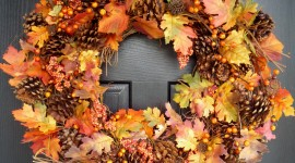 Diy Autumn Leaf Garland Wallpaper Mobile#1