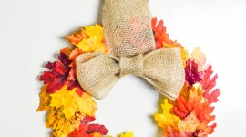 Diy Autumn Leaf Garland Wallpaper Mobile#2