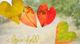 Diy Autumn Leaf Garland Wallpaper Gallery