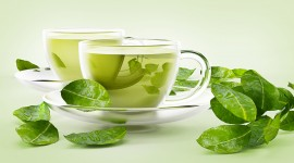 Green Tea Desktop Wallpaper HD