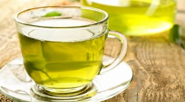 Green Tea Wallpaper Full HD