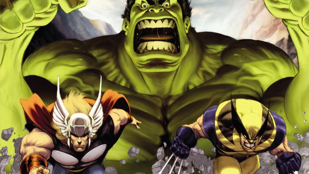 Hulk VS. 2009 wallpapers HD