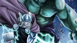 Hulk VS. 2009 Wallpaper For Mobile