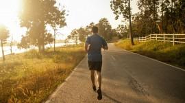 Jogging In The Morning Desktop Wallpaper