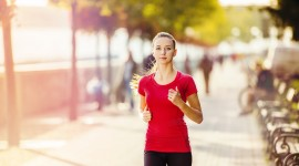 Jogging In The Morning Photo Download